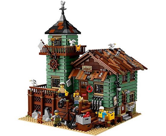 lego old fishing store instructions