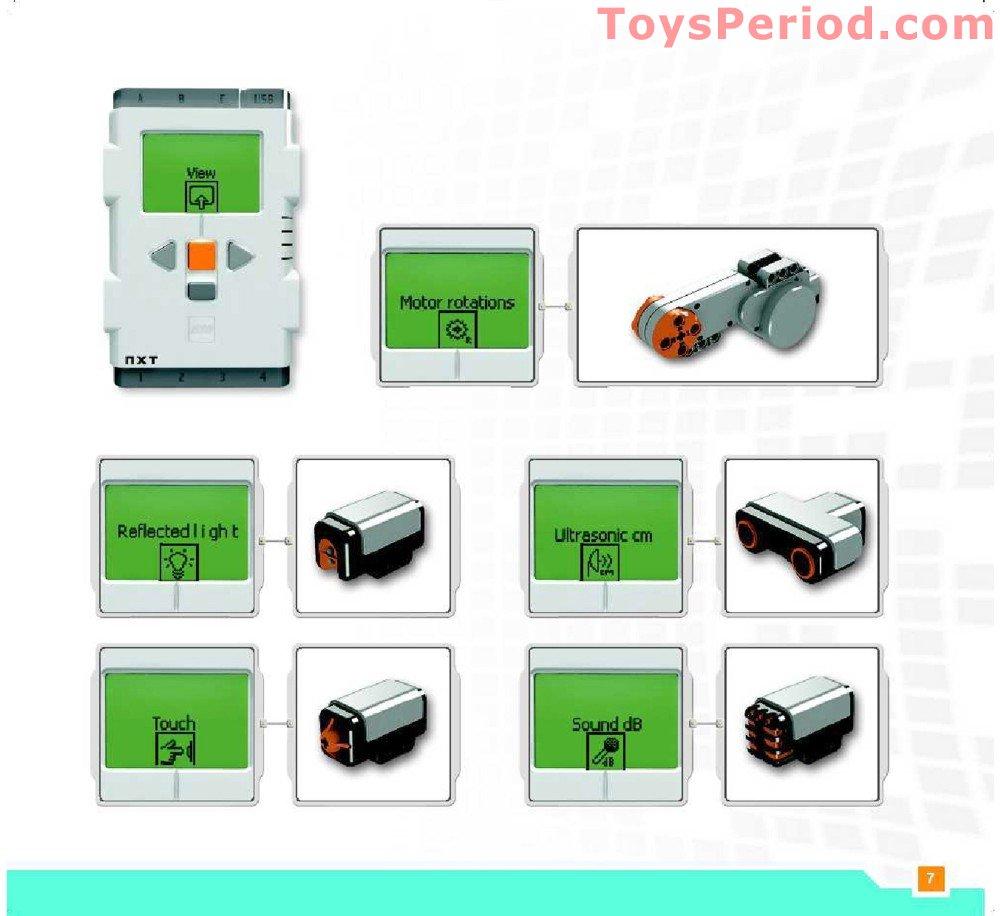 lego mindstorms nxt building instructions pdf