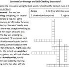 academic instructional crossword clue