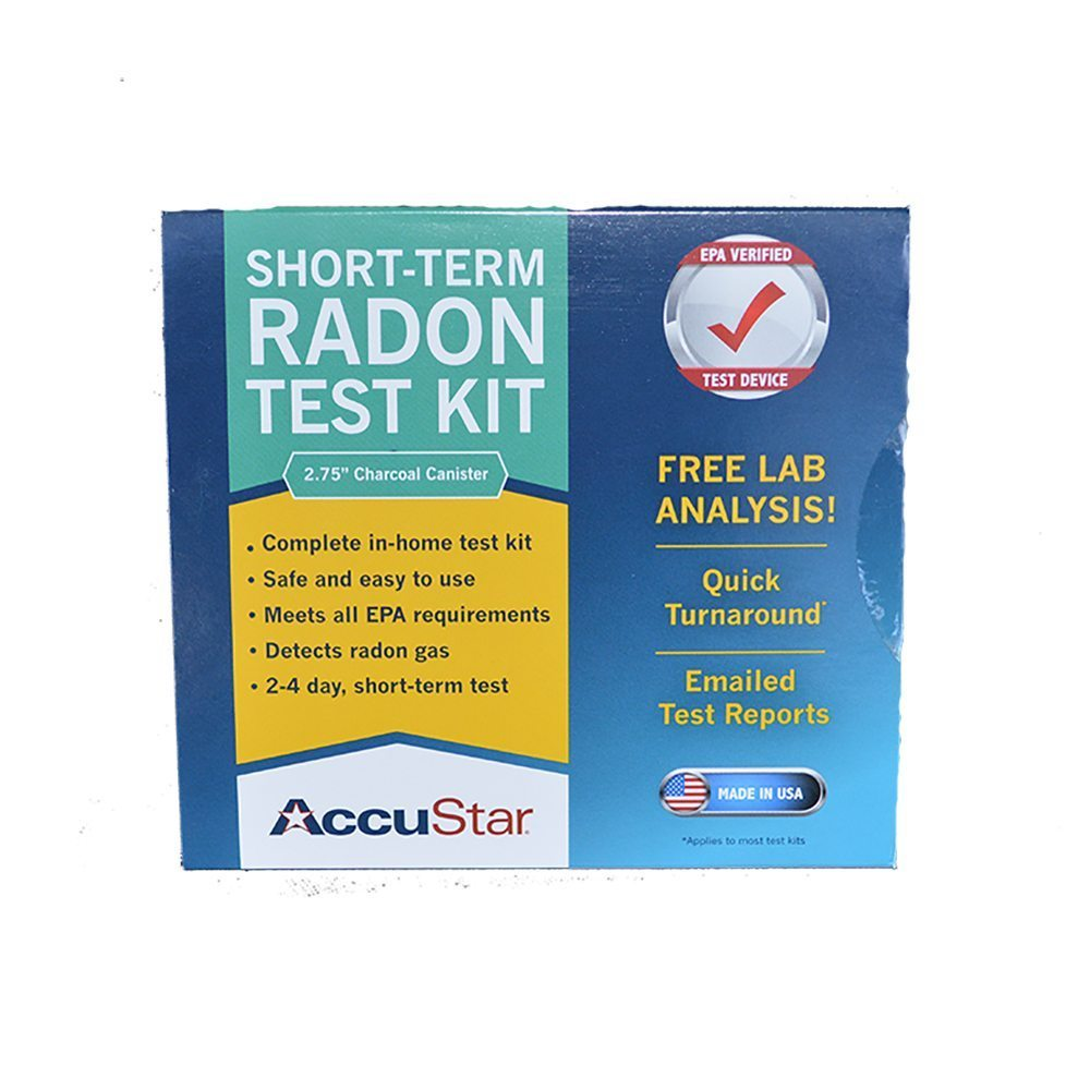 accustar radon test instructions