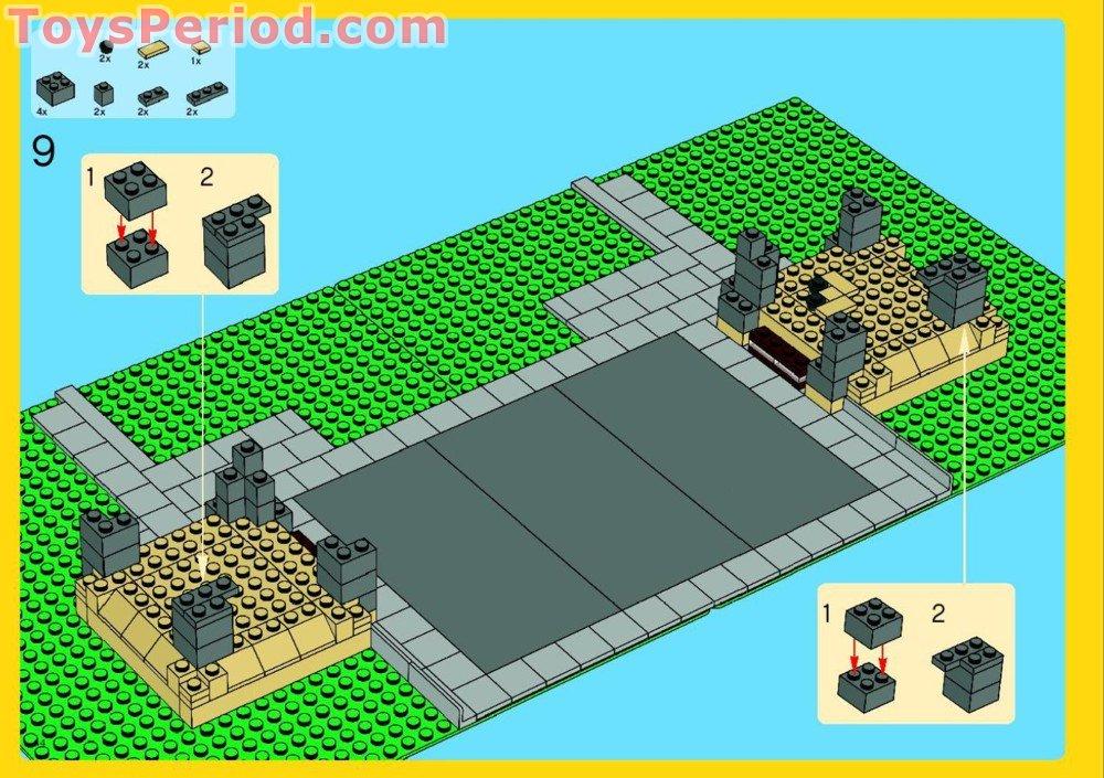 lego eiffel tower instructions 10181
