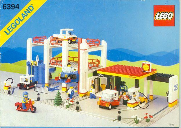 lego service station instructions