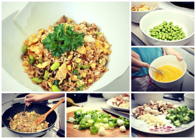 ajinomoto fried rice cooking instructions