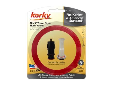 american standard flush valve replacement instructions