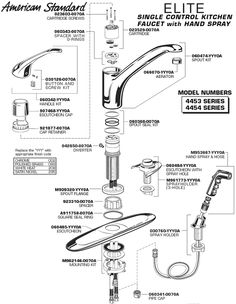 american standard shower faucet repair instructions