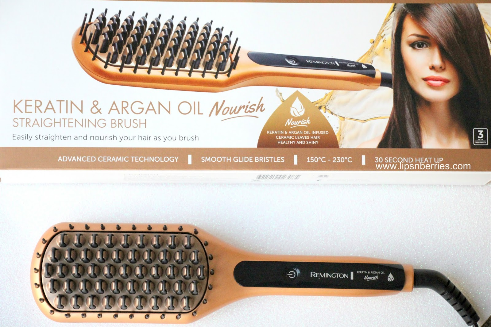 argan oil hair instructions