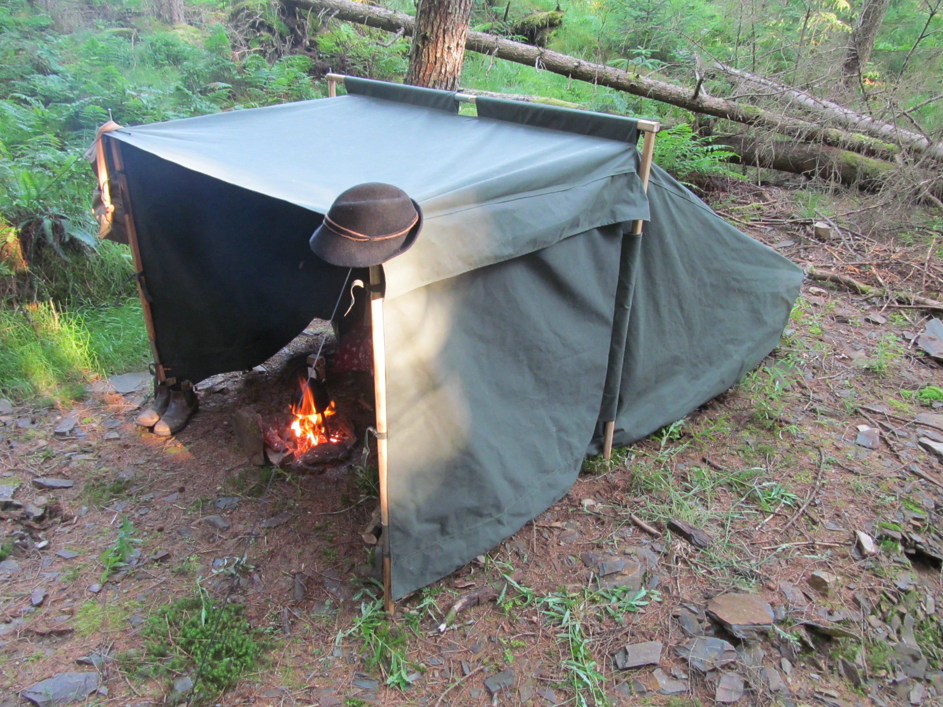 army pup tent instructions