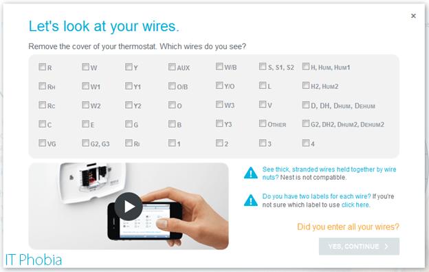 nest thermostat installation instructions