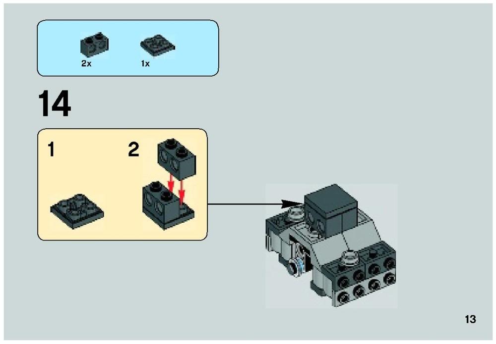 lego tie interceptor instructions