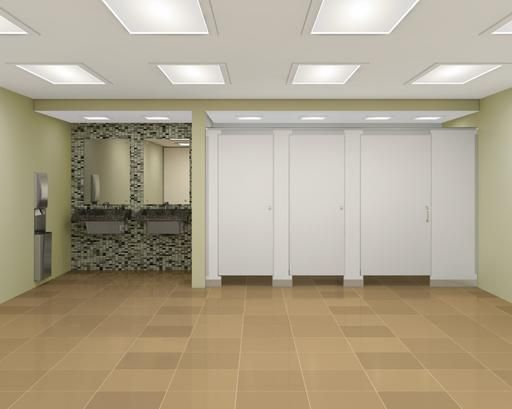 bathroom partition installation instructions