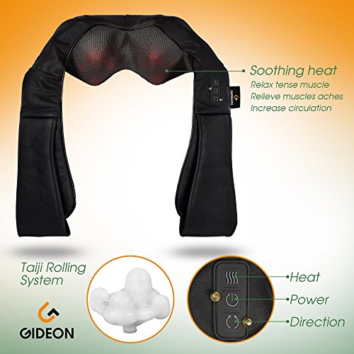 pro shiatsu portable massager instructions