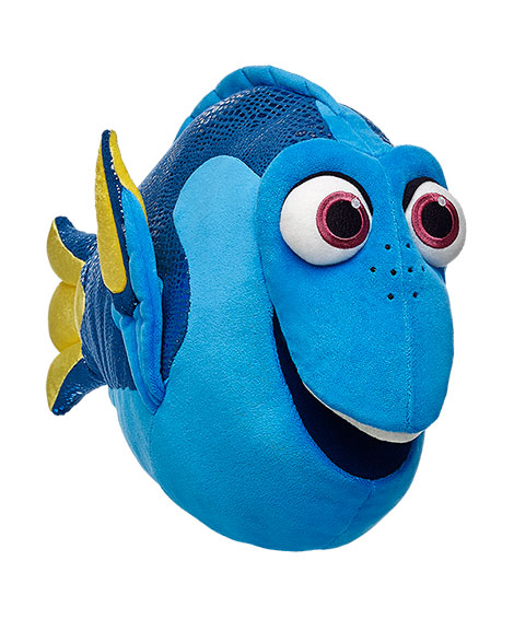 dory swimming action figure instructions