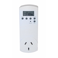noma outdoor heavy duty timer with 2 outlets instructions