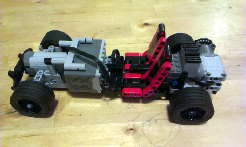 lego mindstorms fast car instructions