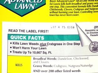 ortho weed killer instructions