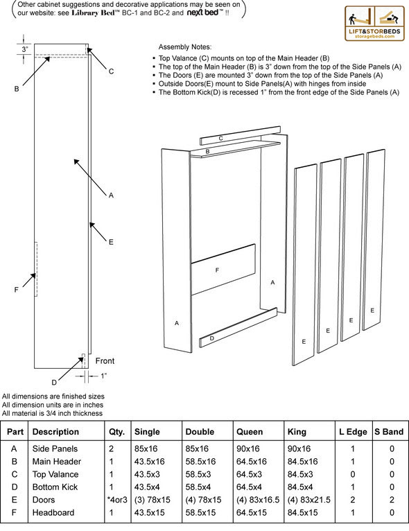 restoration hardware bed assembly instructions
