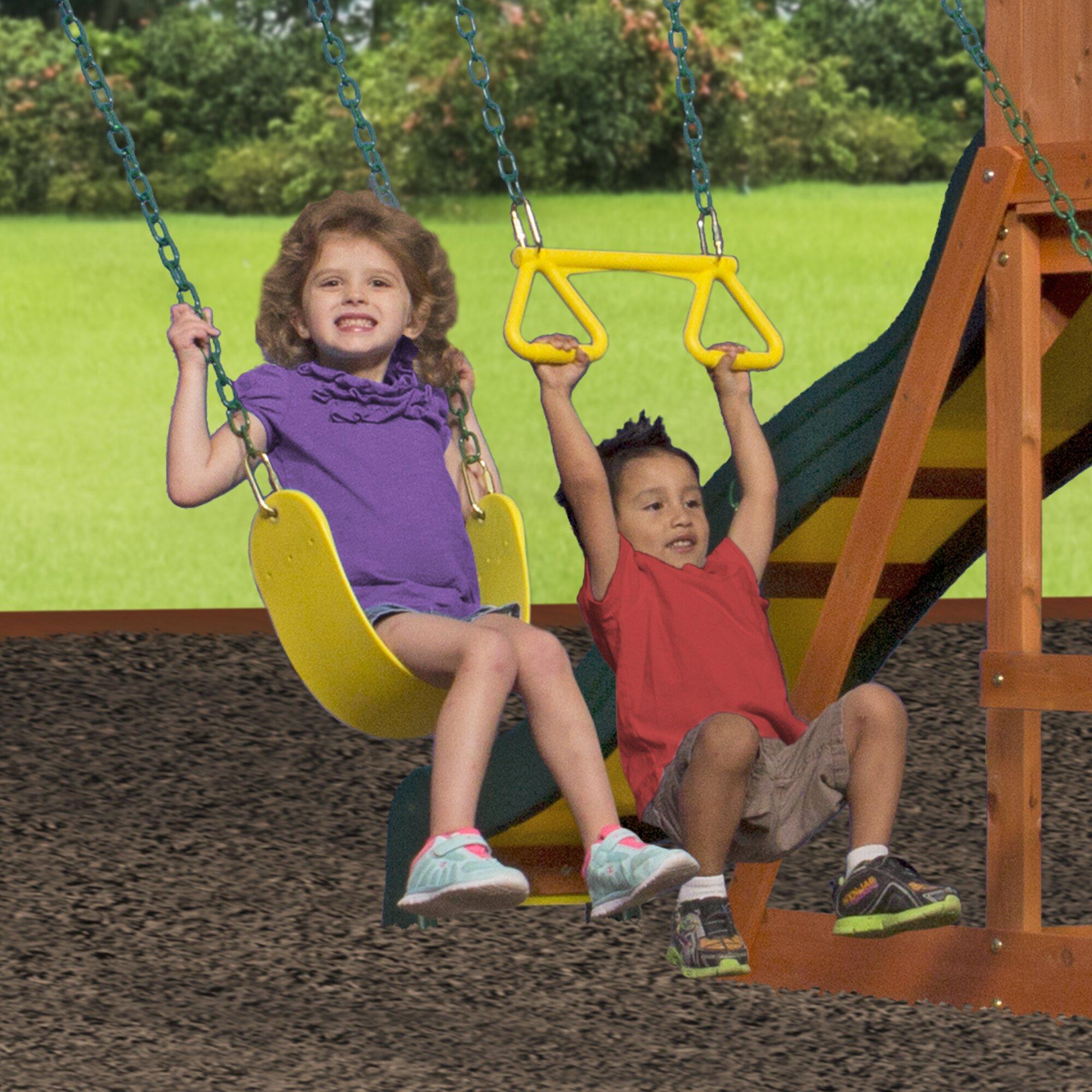 backyard discovery weston cedar swing set instructions