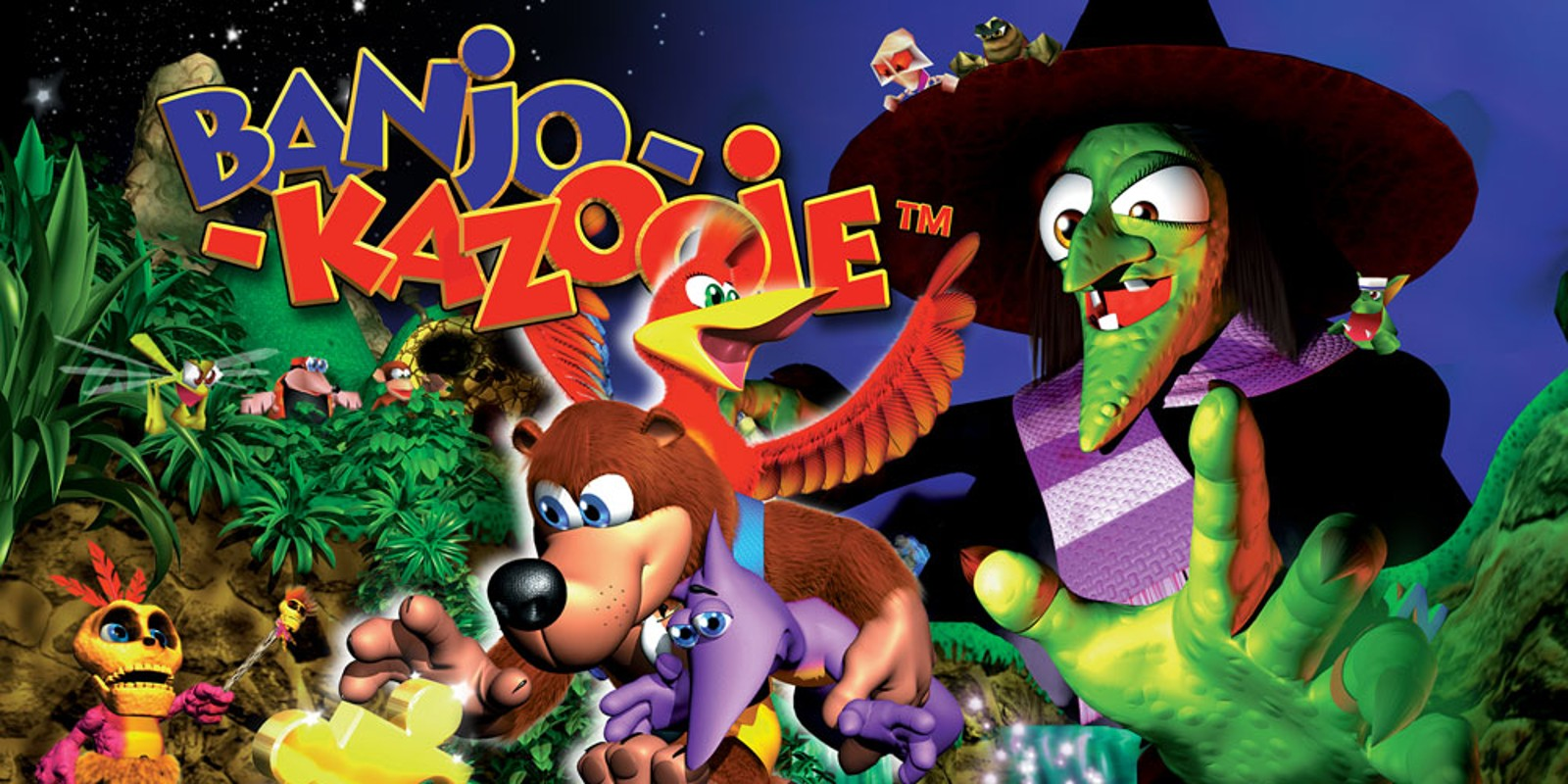 banjo kazooie instruction manual
