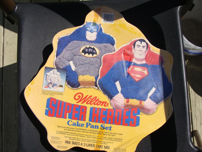 batman cake pan instructions