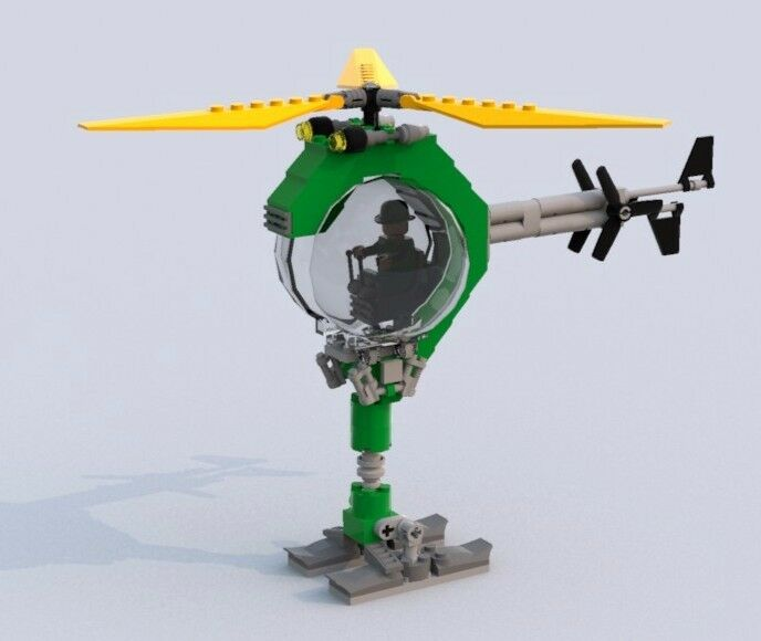 batman helicopter lego instructions