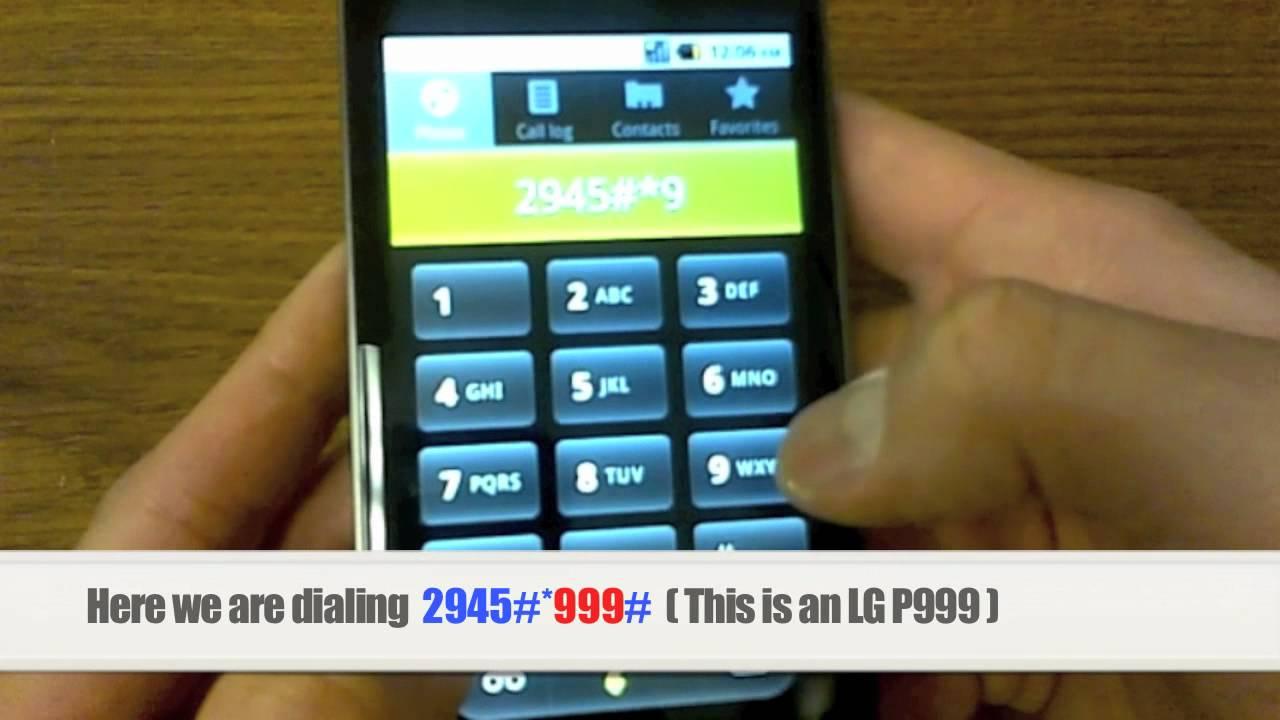 bell phone unlock instructions