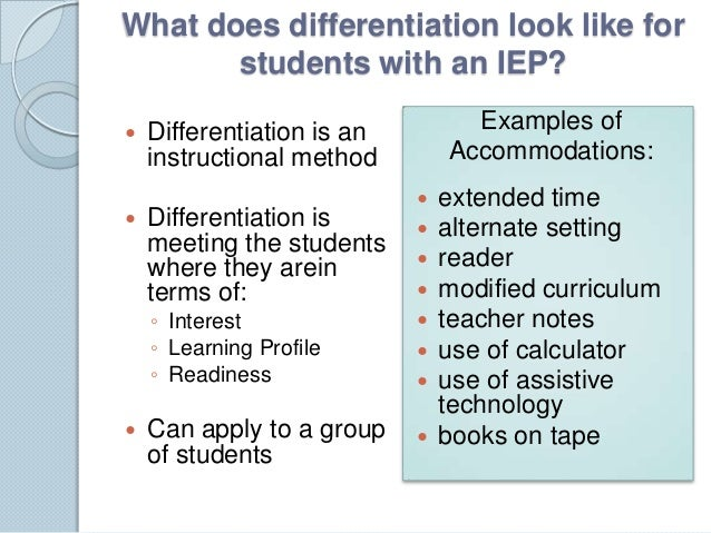 benefits of differentiated instruction