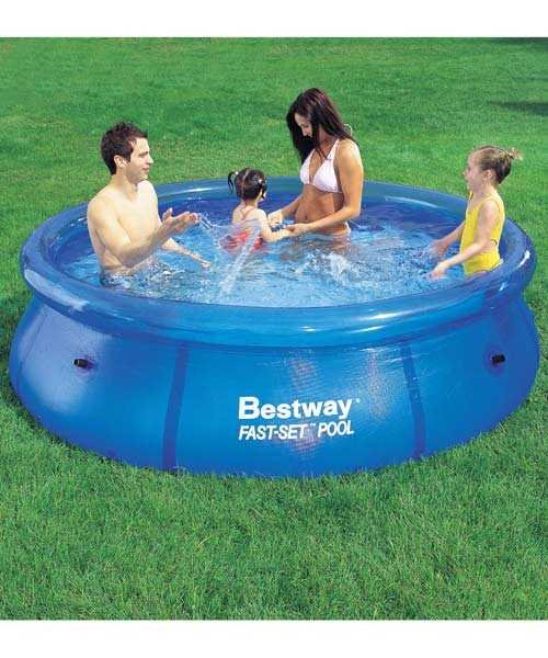 bestway fast set pool instructions