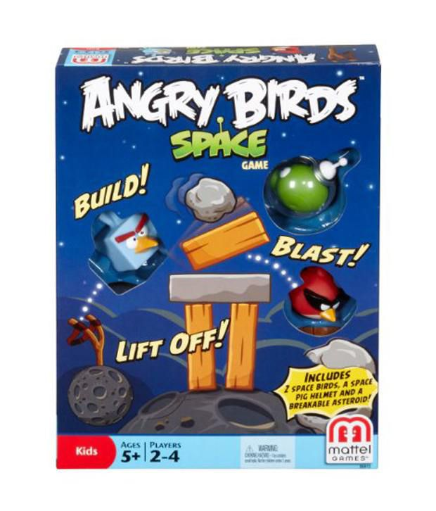 angry birds space board game instructions