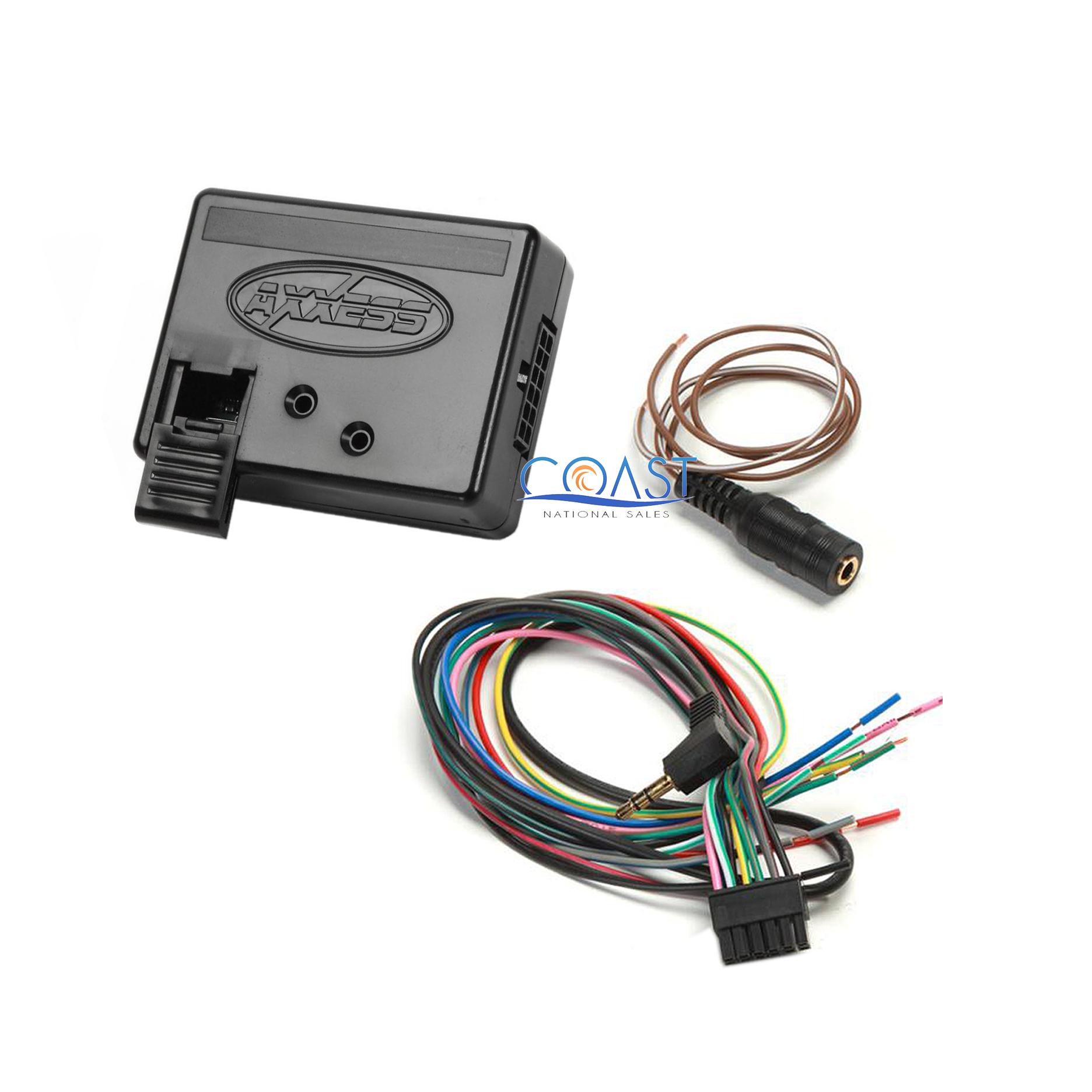 axxess aswc 1 steering wheel control adapter instructions