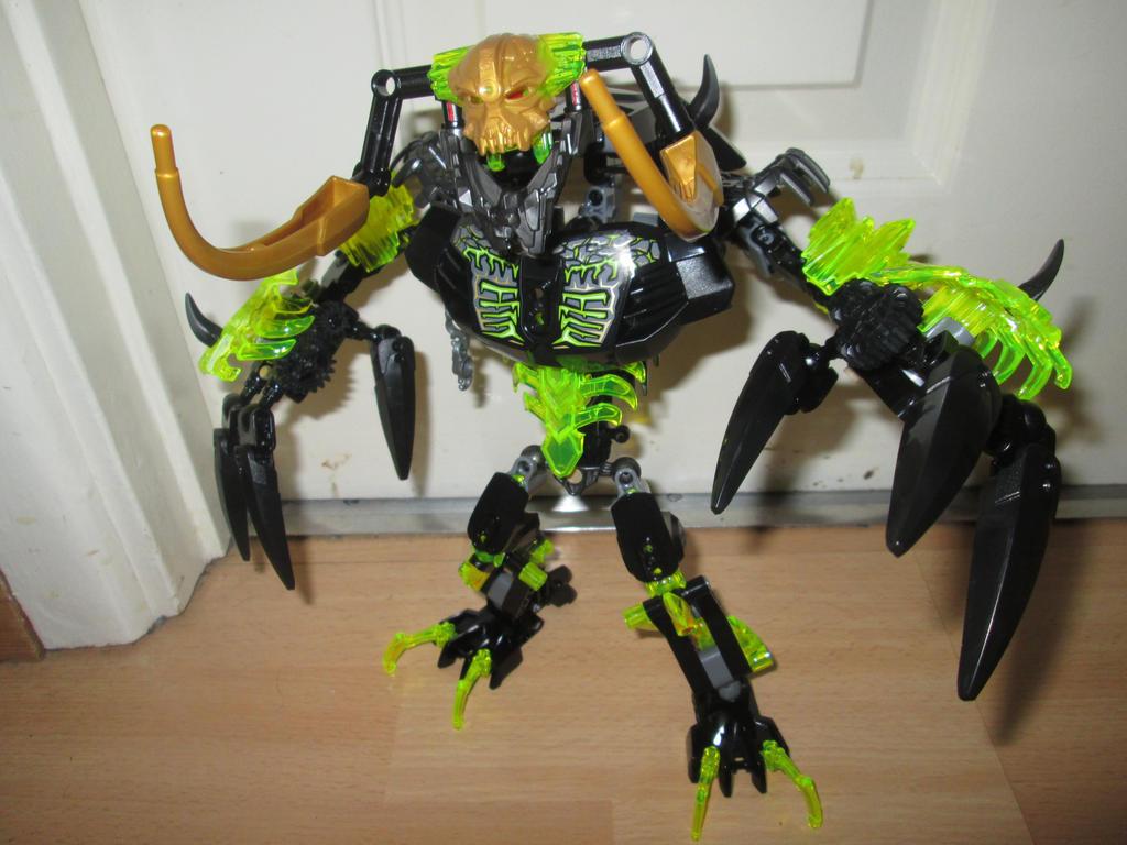 bionicle umarak the destroyer instructions