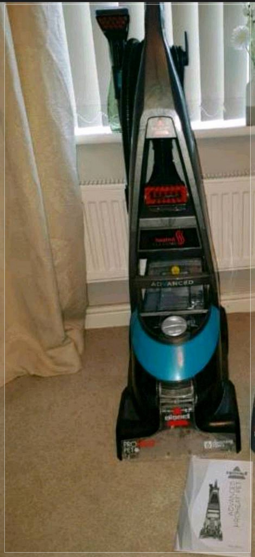 bissell proheat carpet cleaner instructions