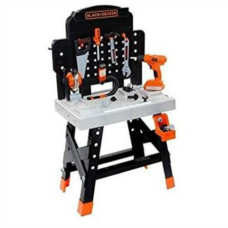 black and decker junior power tool workshop instruction manual