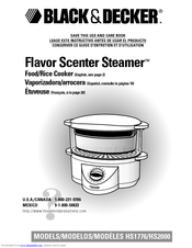 black and decker steamer instructions