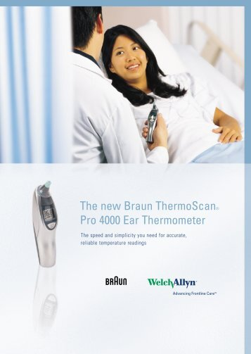 braun welch allyn thermometer instructions