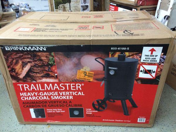 brinkmann smoker grill instructions