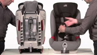 britax trendline car seat instructions
