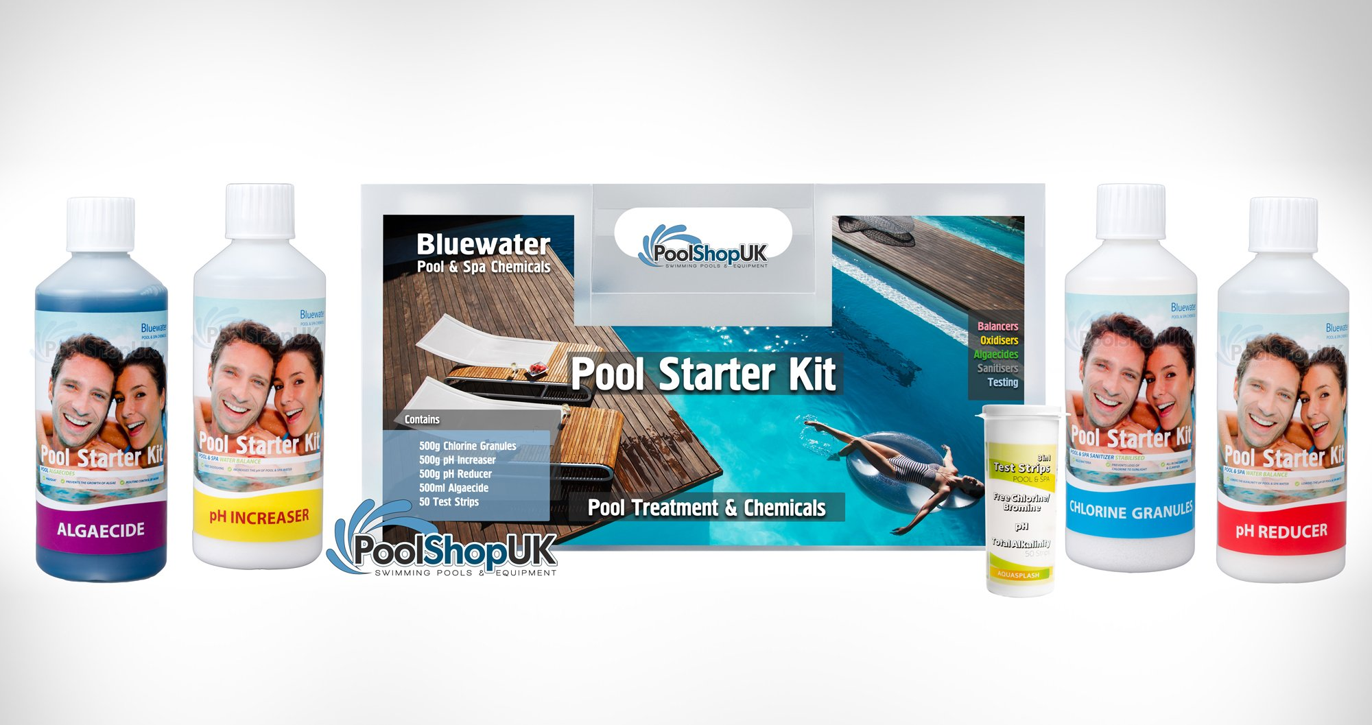 pool test kit instructions
