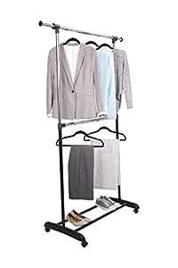 mainstays rolling garment rack instructions