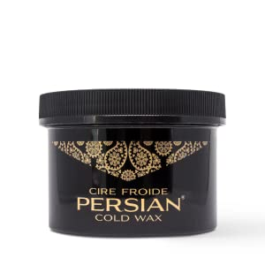 persian cold wax instructions