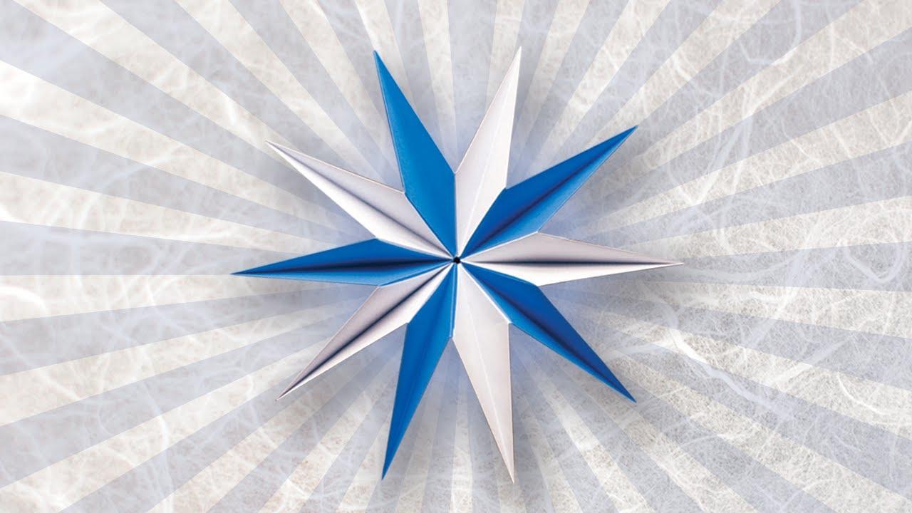 folded paper stars instructions
