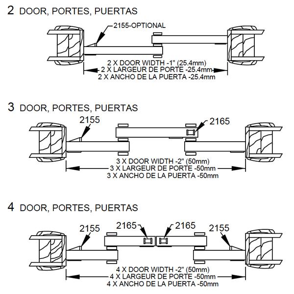 johnson hardware sliding door installation instructions