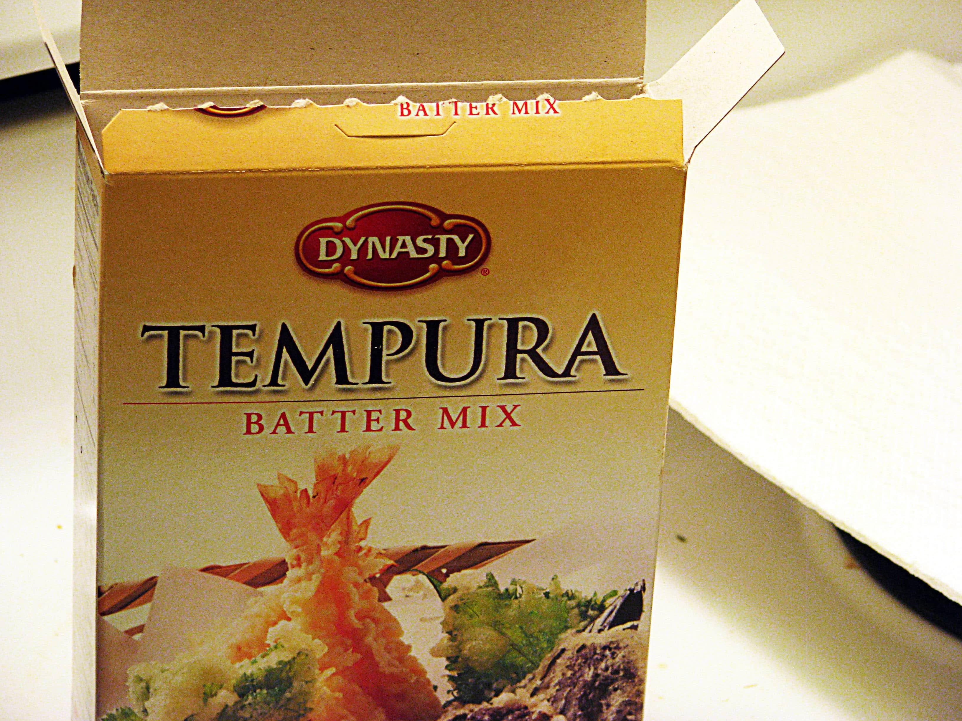 tempura batter mix instructions