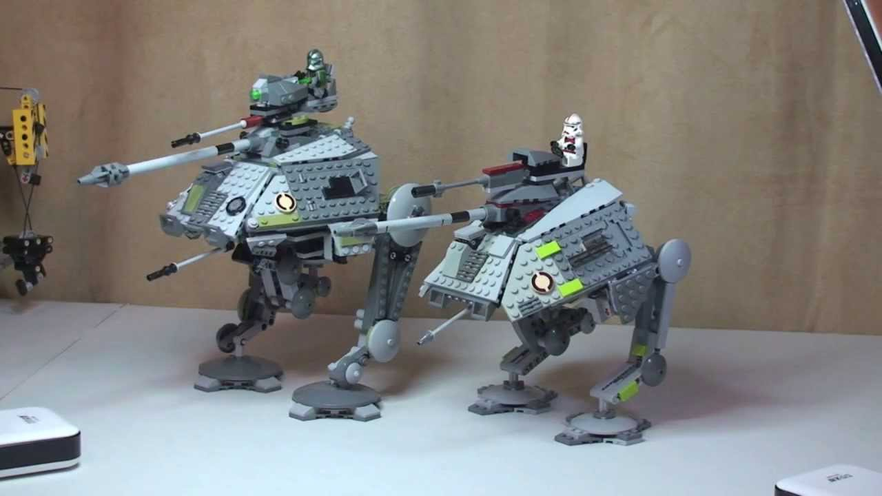 lego star wars at ap instructions
