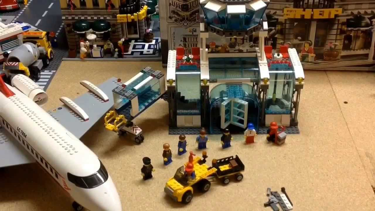 lego city airport 7894 instructions