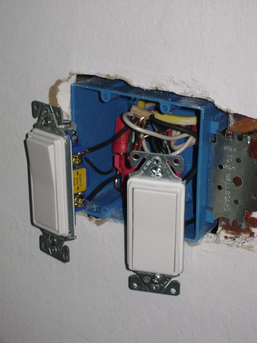 solar sensor wall light instructions