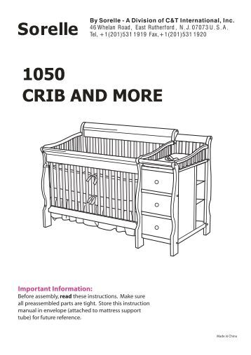 shermag crib conversion instructions