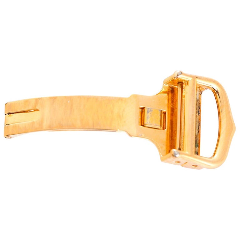 cartier deployant buckle instructions