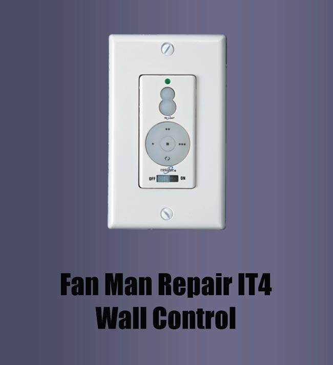 casablanca fan wall control instructions