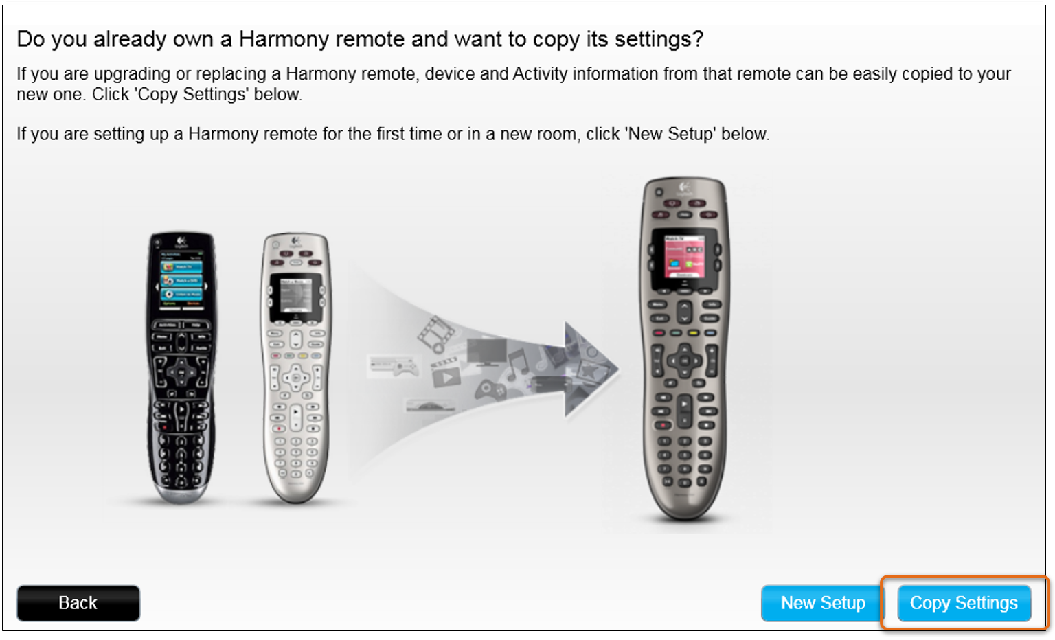 harmony remote control instructions