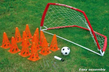 rawlings soccer training set instructions
